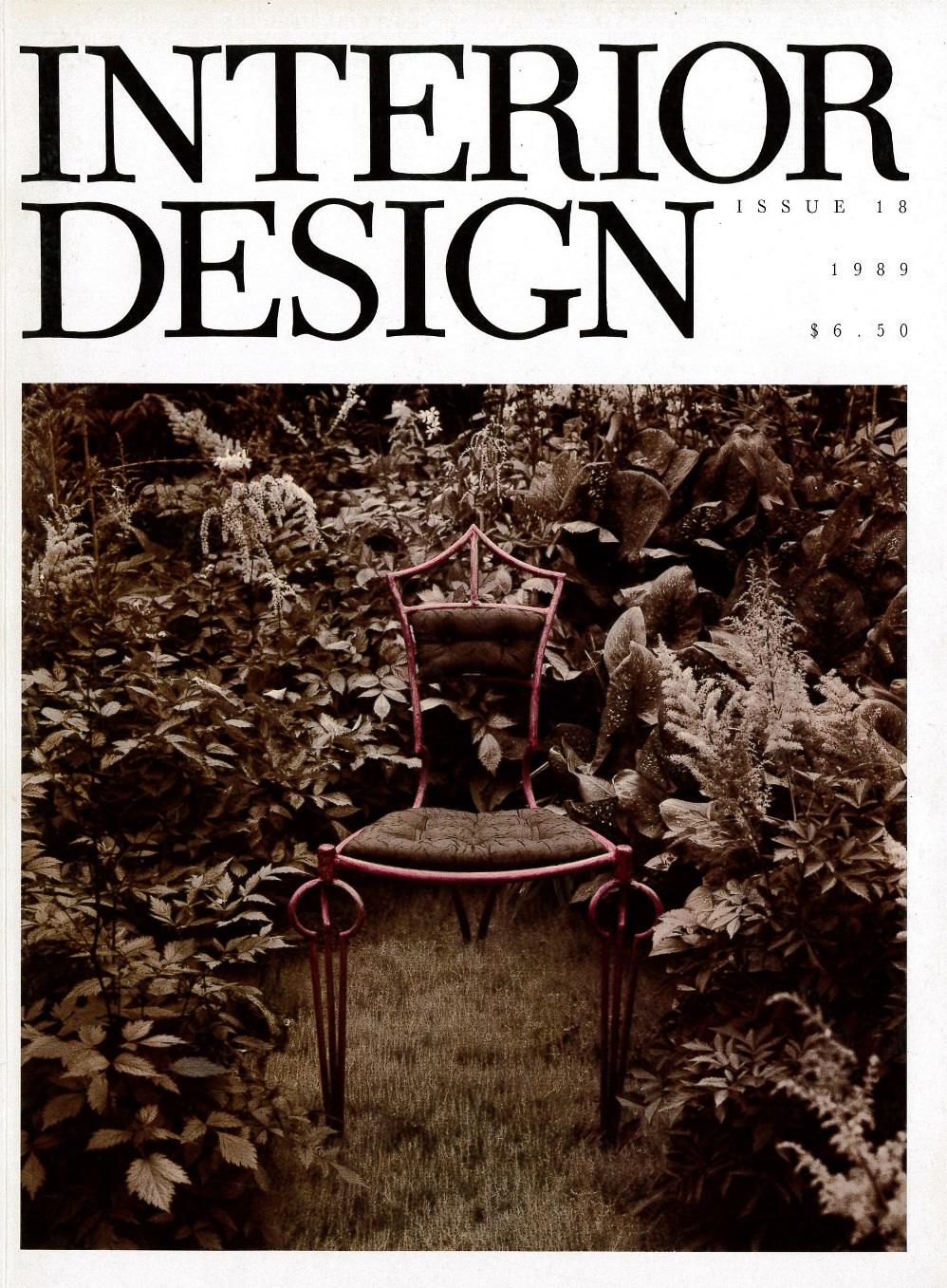 interior design magazine issue 18 1989