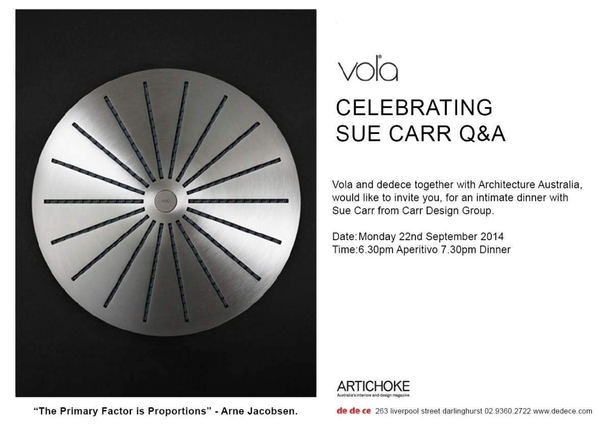 vola invitation sue carr