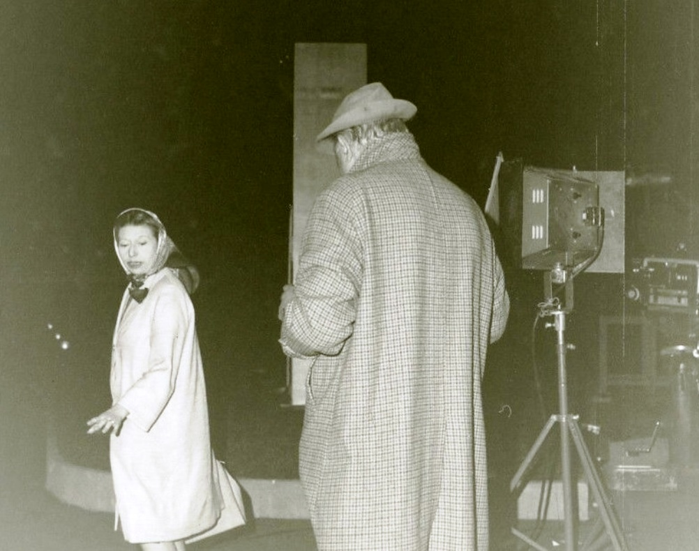 barbara on set