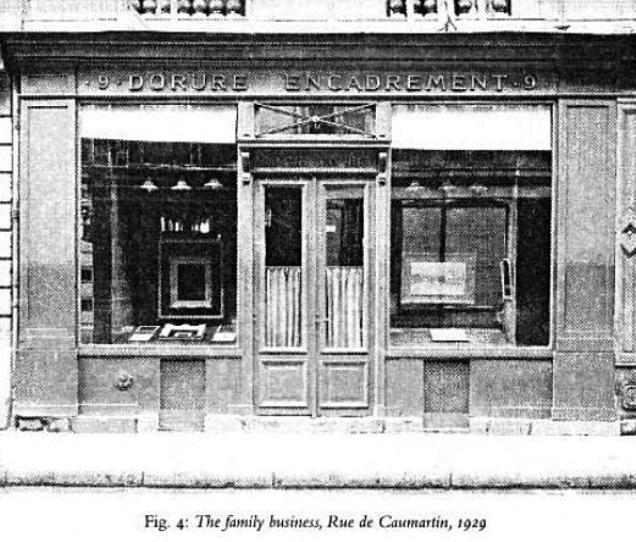 family business rue de caumartin in 1929