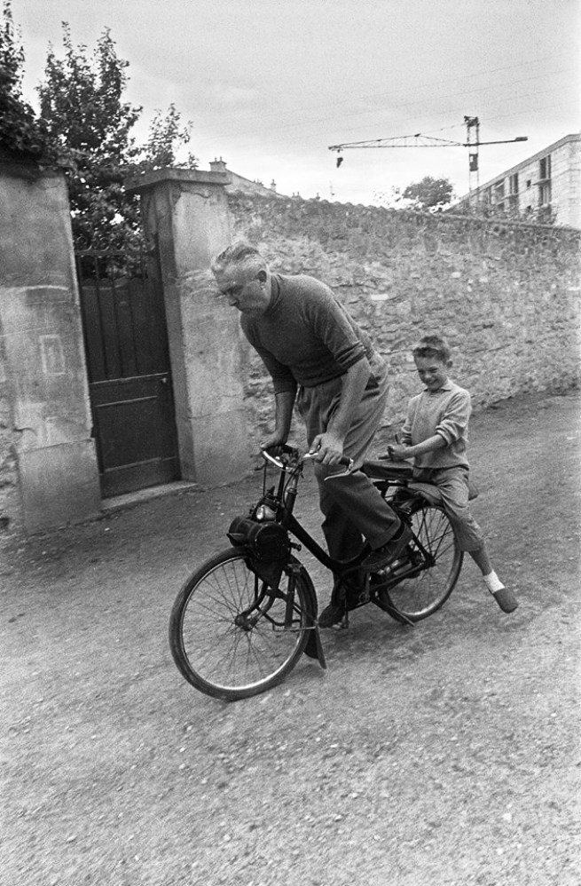 jacques and his son pierre 1960