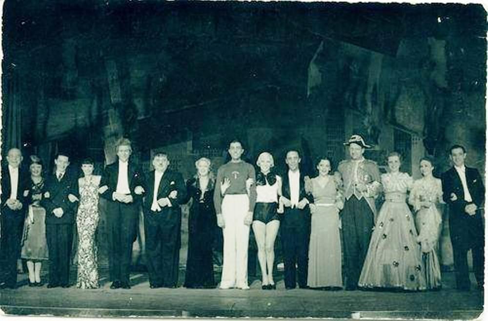 sportifs show 1932