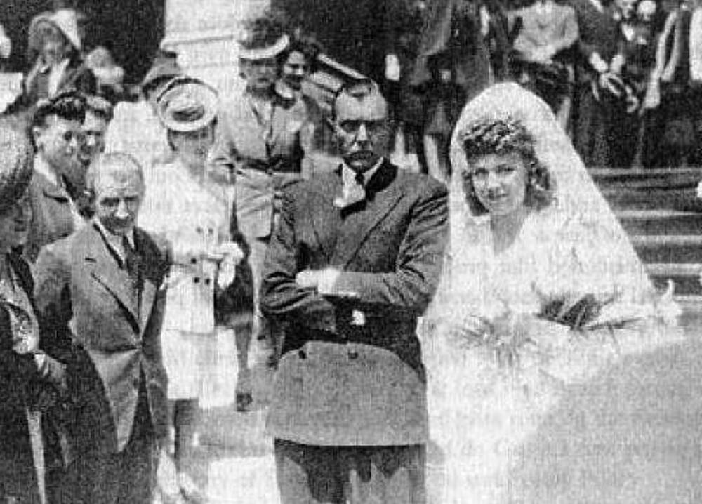 tati wedding 1944