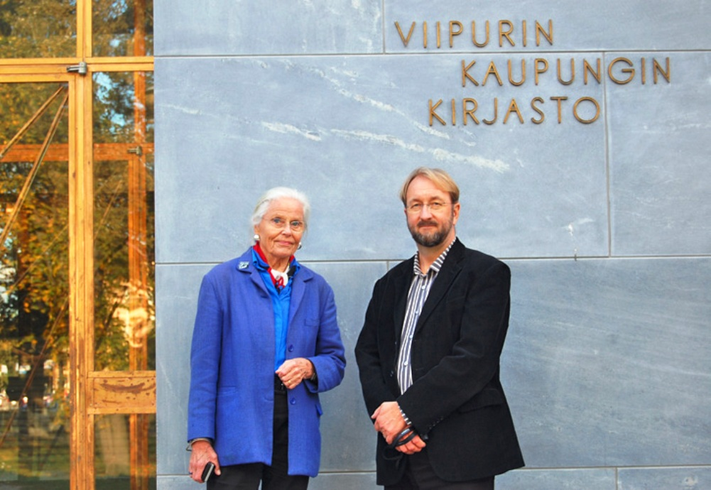 Committee members Maija Kairamo and Tapani Mustonen, 2014