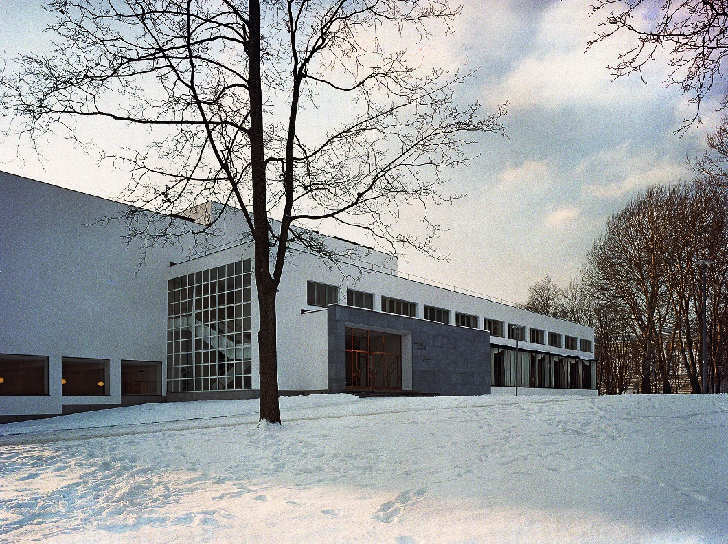 The Central City Alvar Aalto Library, Vyborg b