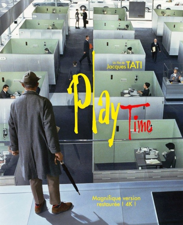 Play Time (1967) by Jacques Tati – A Comedy Film about Modernist Architecture