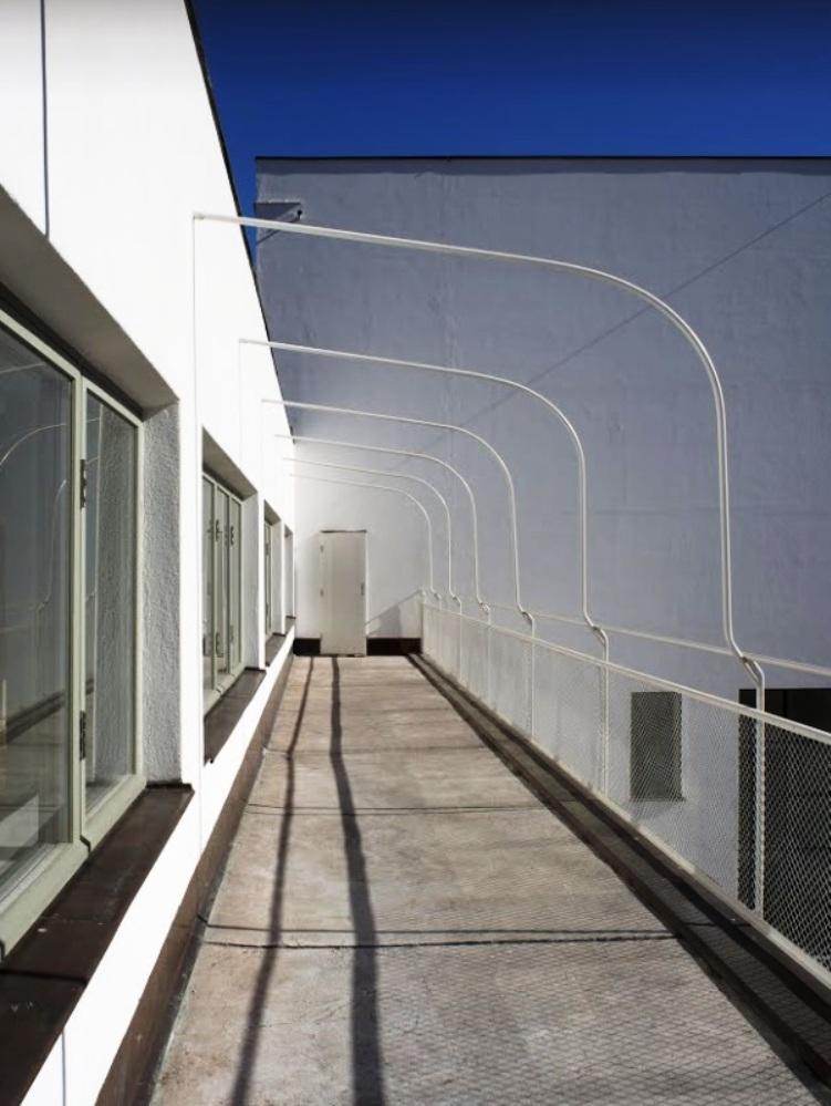 restored terrace