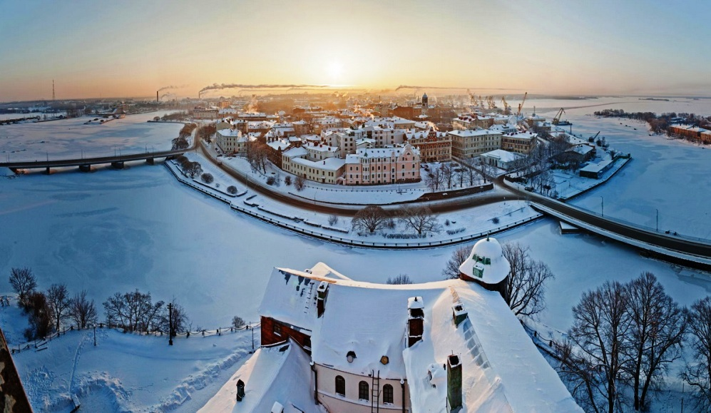 vyborg winter