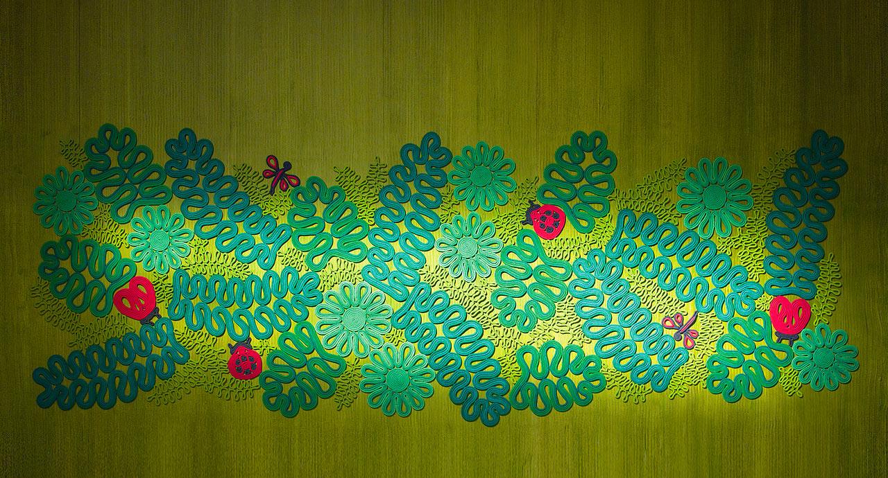 paola lenti ladybird wall floor rug