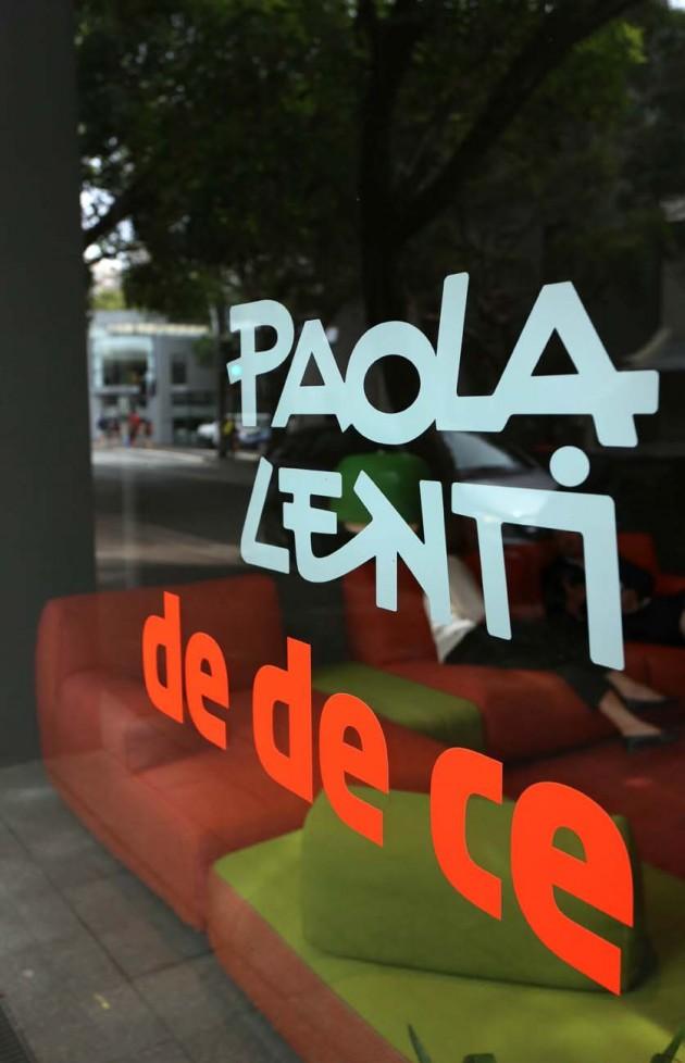 Paola Lenti @ dedece's Atrium showroom