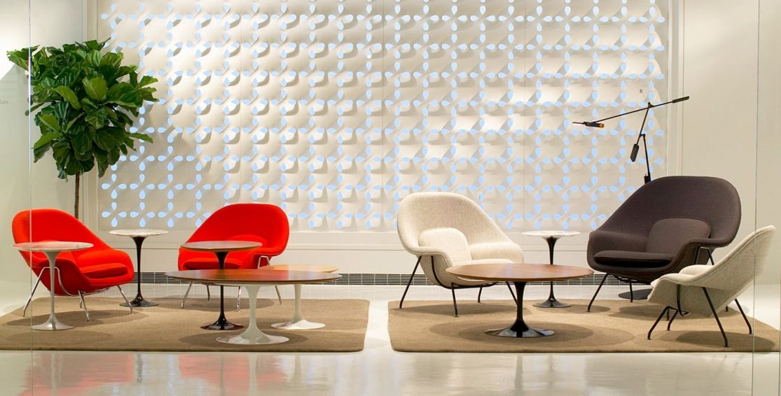 Knoll_Showroom womb chairs