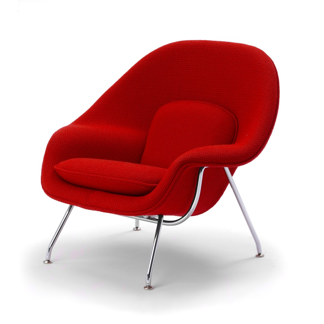 knoll womb chair red
