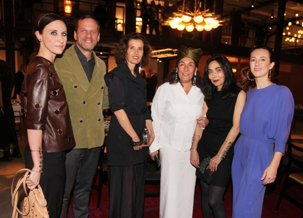 Alessandra Facchinetti, Marco Balich, Osanna Visconti di Modrone, Nina Yashar, Annamaria Sbisà, Martina Gambon