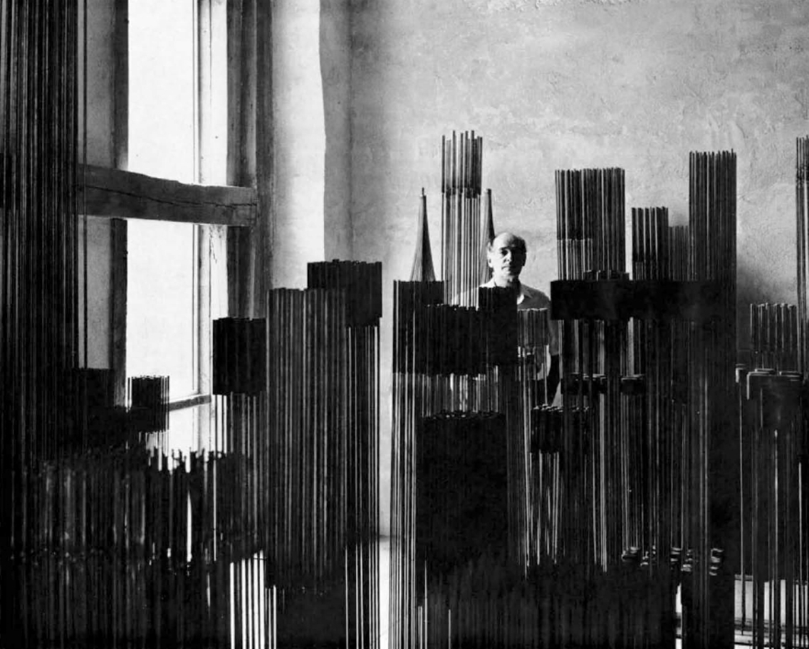 Bertoia with Sonambient Sculptures