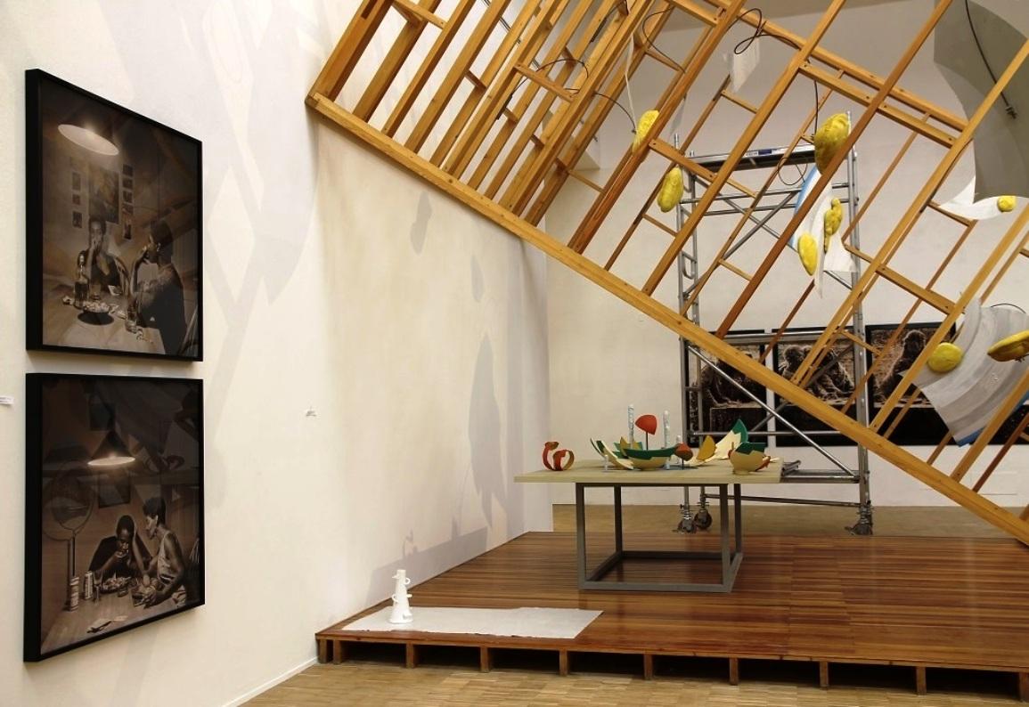 Claes Oldenburg and Coosje Van Bruggen, installation, 1987
