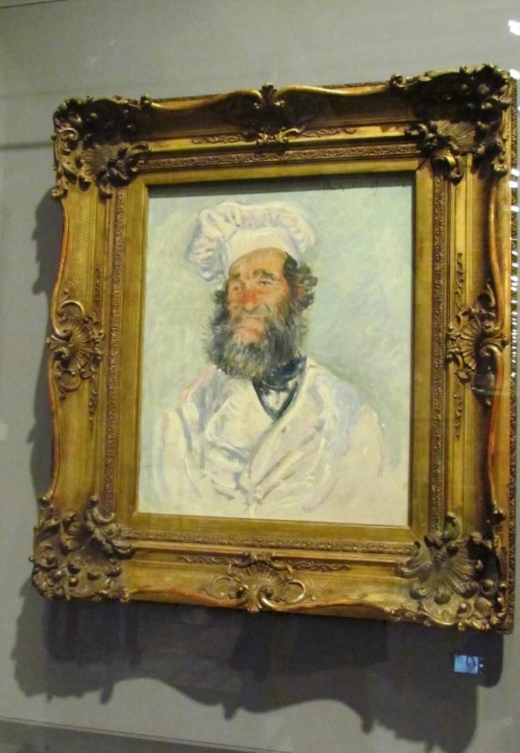 Claude Monet, Der Koch (Le Chef Père Paul), 1882 (2)