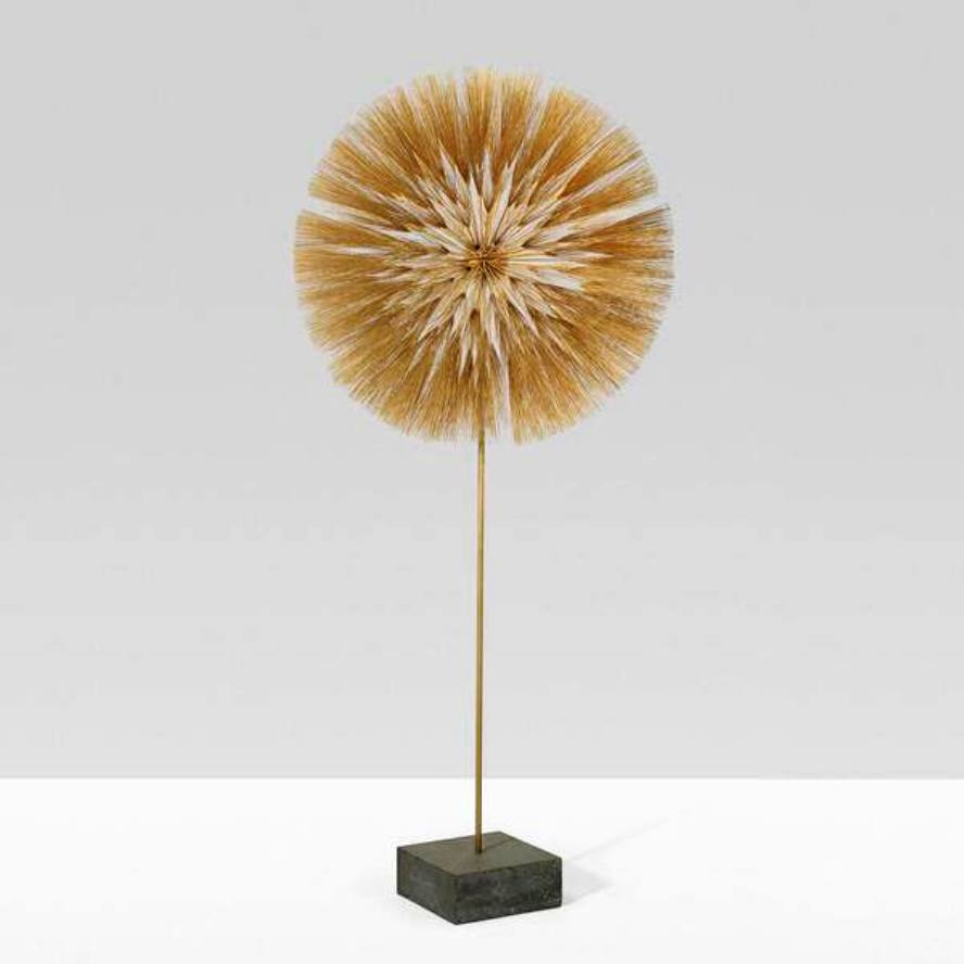 Dandelion form by Harry Bertoia