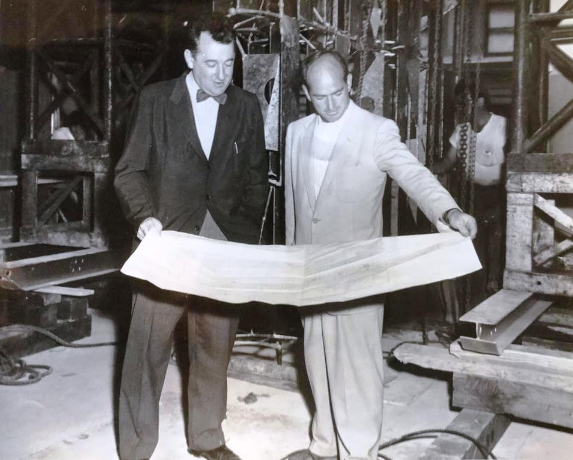 Gordon Bunshaft, and harry re manufacturers project