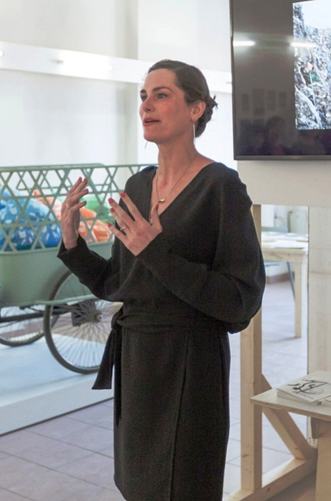 If you work with food, then you have to work with shit, says head of Food Non Food Marije Vogelzang