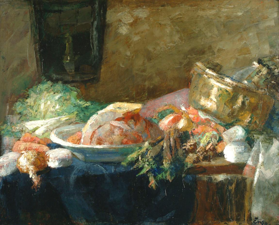 James Ensor, 'Nature morte au canard,' 1880,
