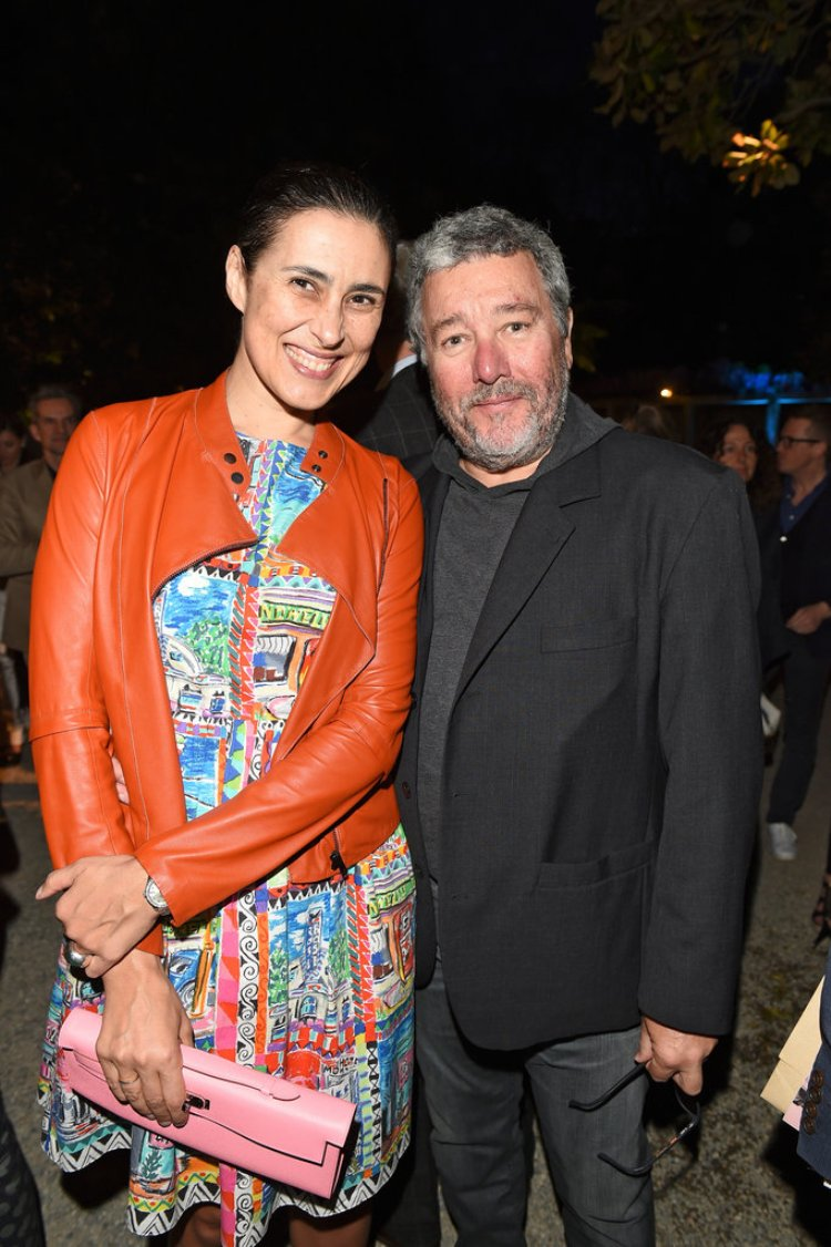 Jasmine and Philippe Starck