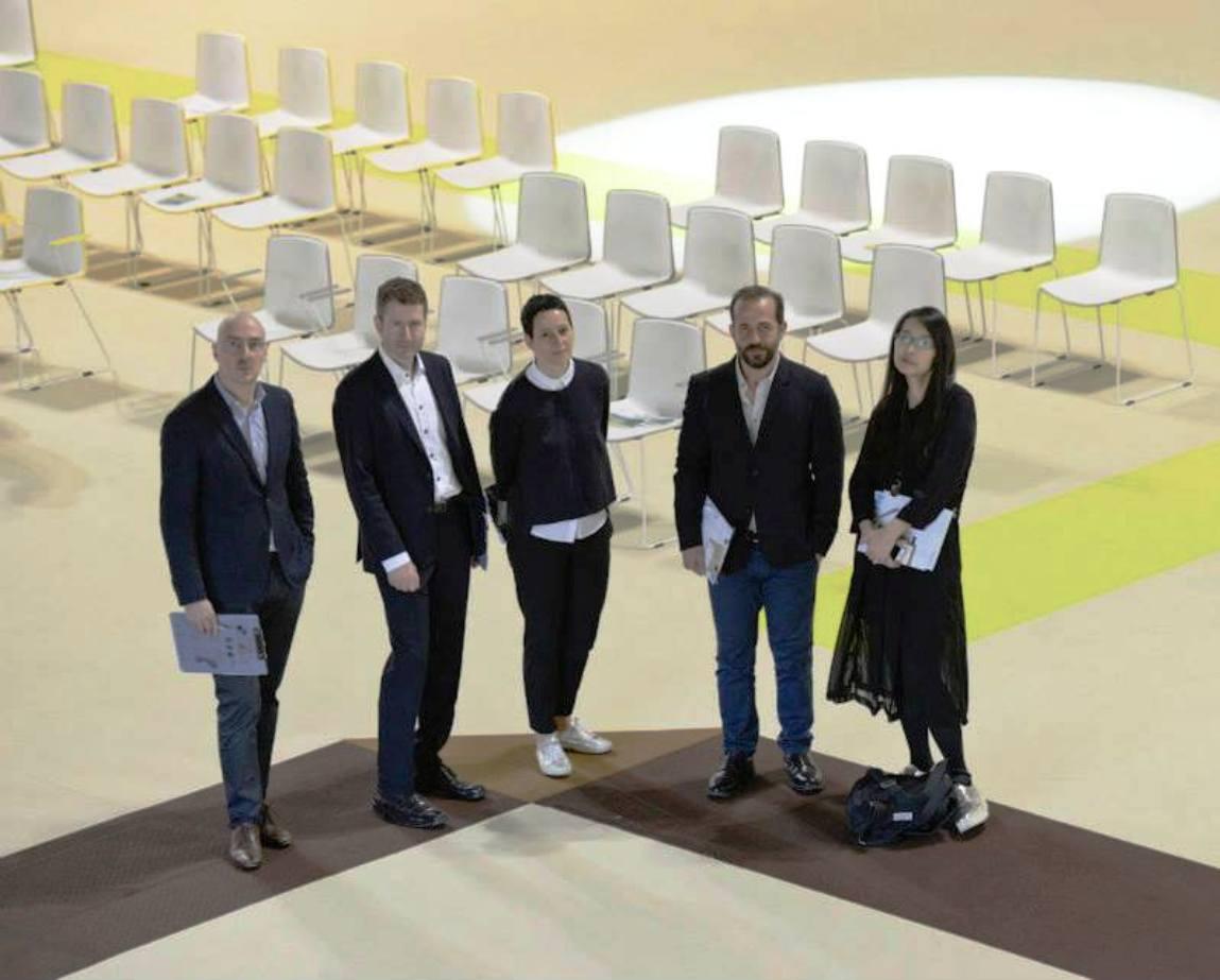 Jury  Roberto Paoli, Lars Qadejacob, Dr. Jana Scholze, Michael Anastassiades, Rossana Hu