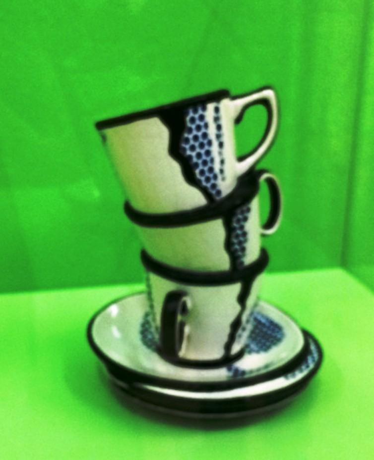 Roy Lichtenstein, Ceramic sculpture, 1965,