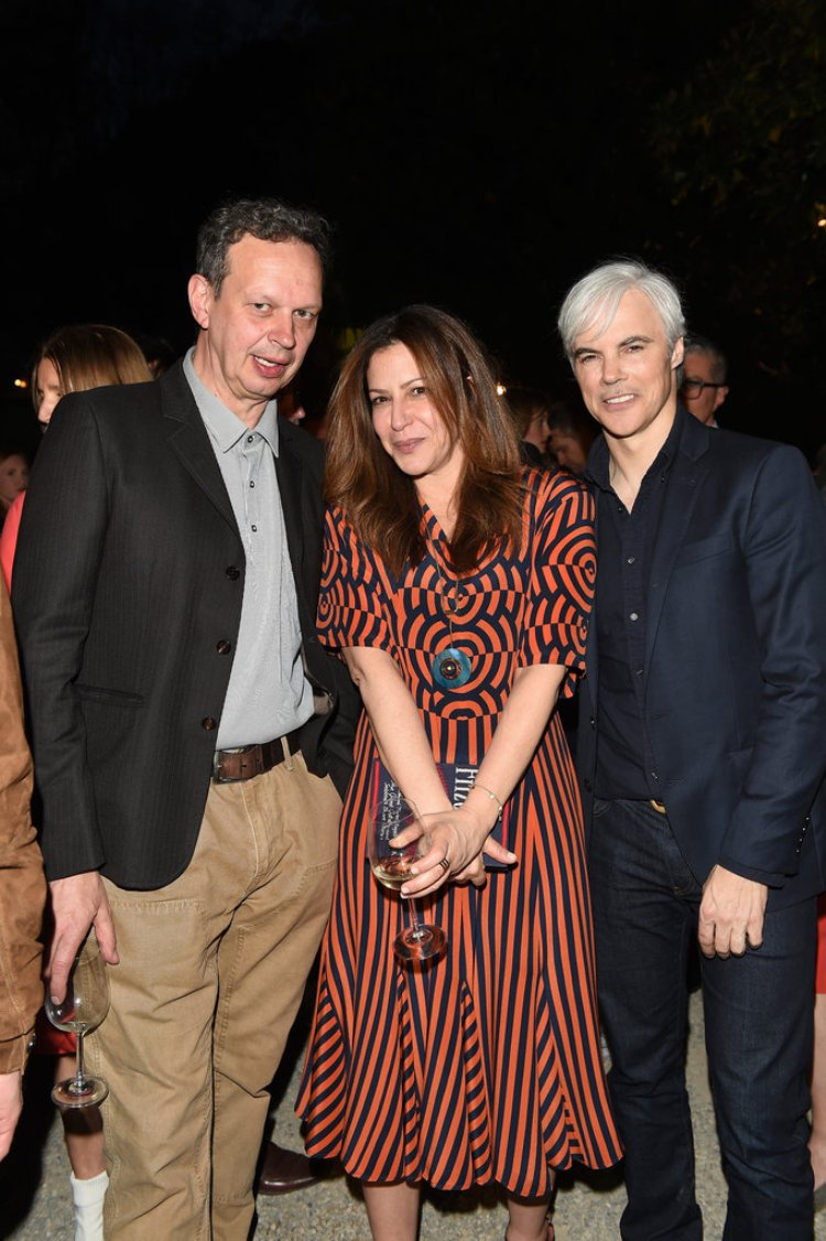 Tom Dixon; Deborah Needleman ( editor of T Mag ) and Tom Delavan