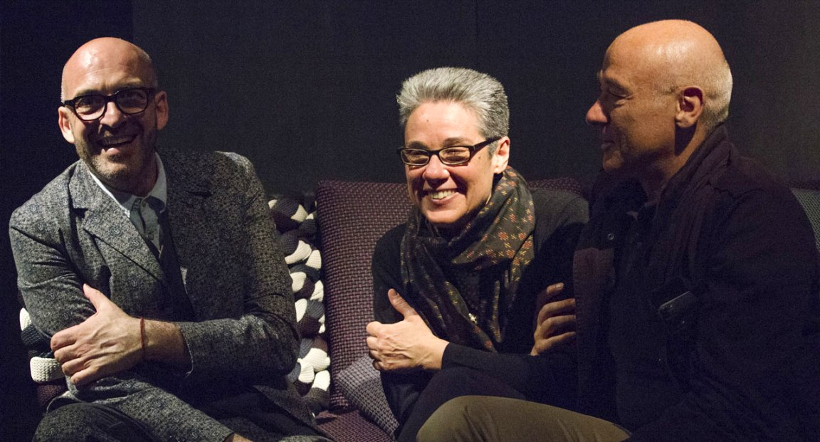 antonio marras ( l ), paola lenti and francesco rota