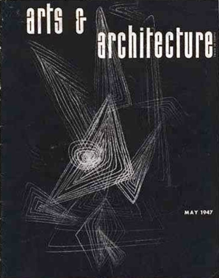 arts and architecture cover 1947