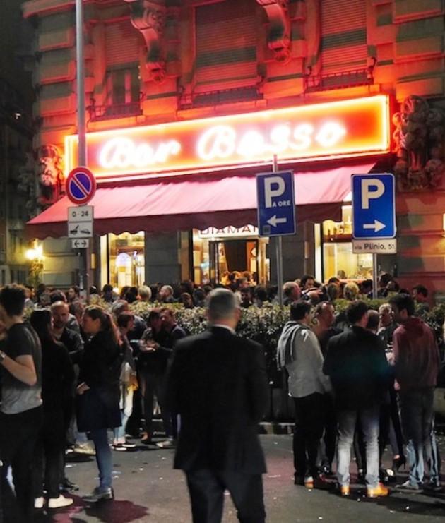 """ Chelsea Boy "" at Bar Basso @ Salone Milan 2015"