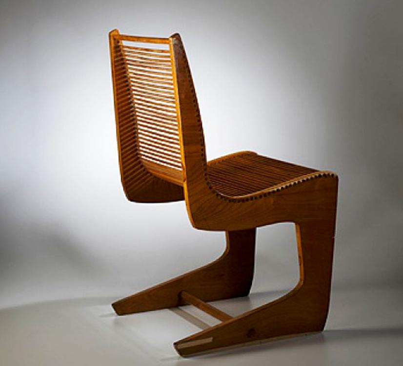 bertoia dowel chair 1940