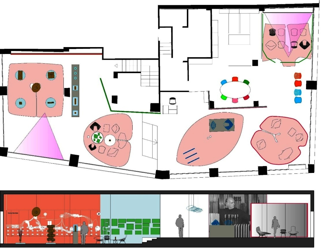 bertoia floor plan