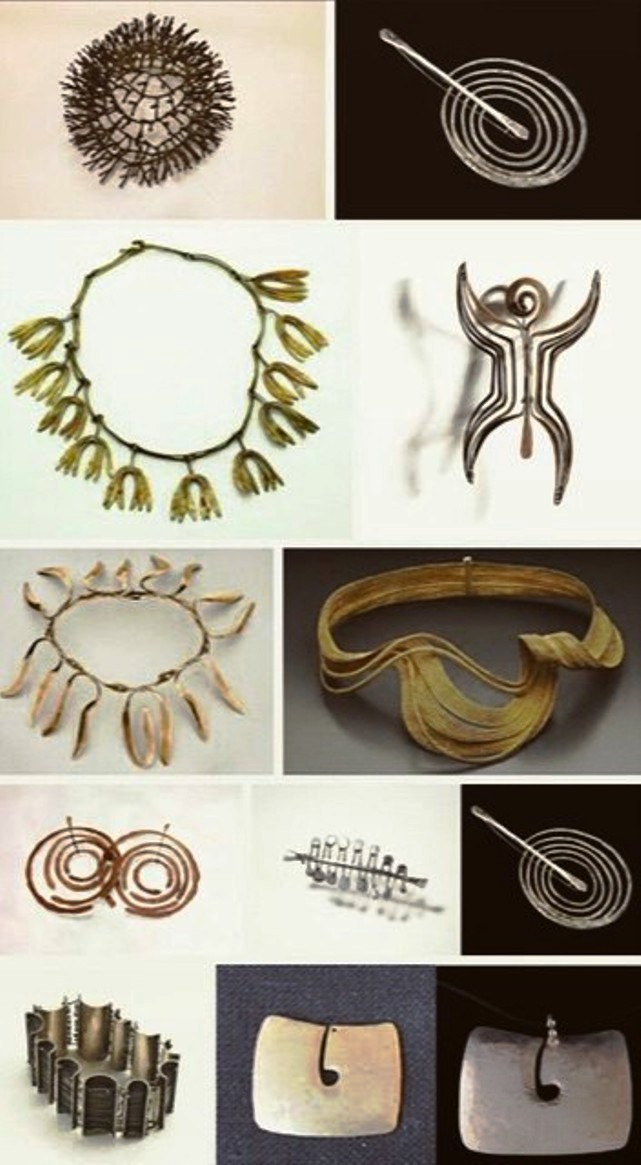 bertoia jewellery
