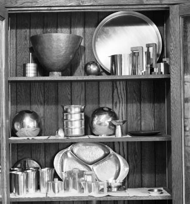 bertoia's metalwork 1942