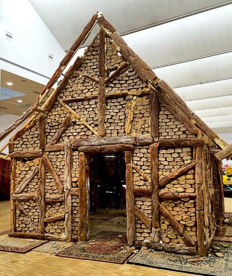bread house by urs fischer 2006