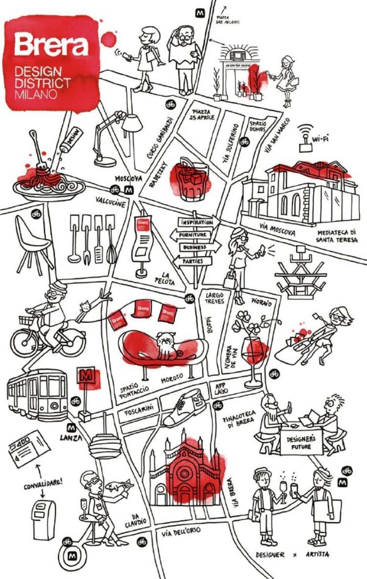 brera map