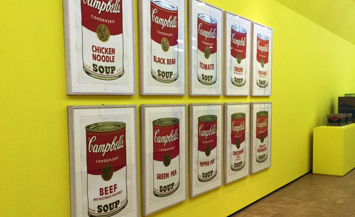 campbells soups andy warhol 1968