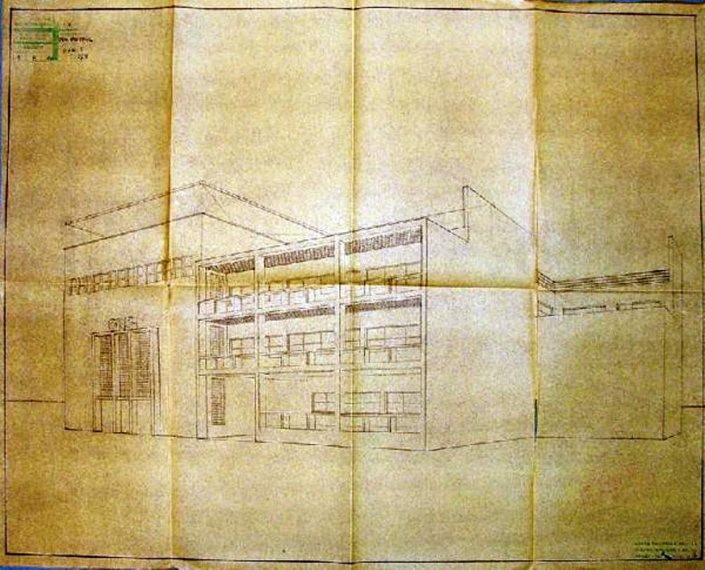 casa dell'Opera Naziomale Balilla plans