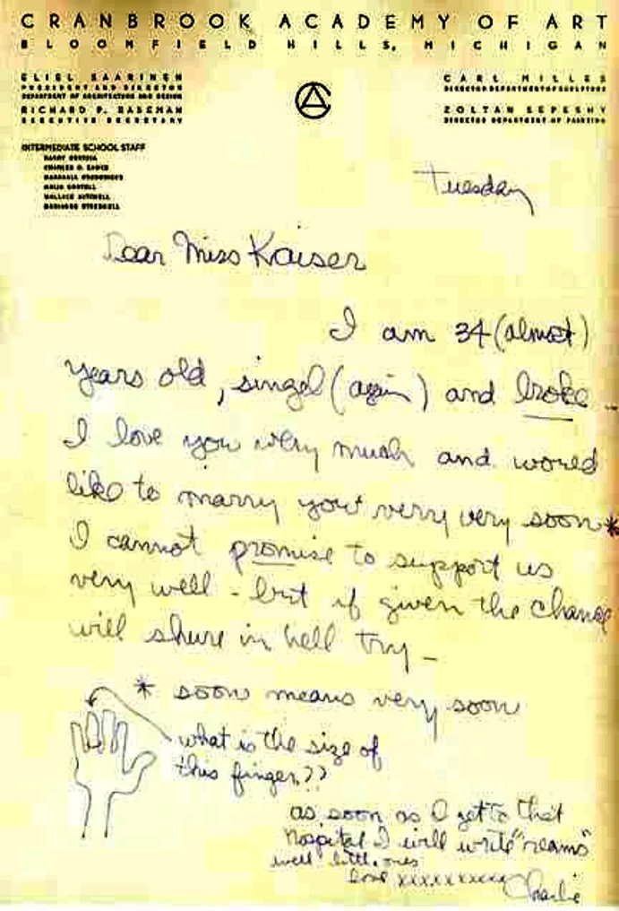 eames love letter