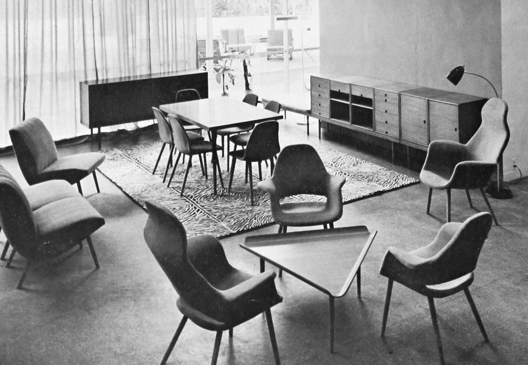 eames saarinen furniture collections