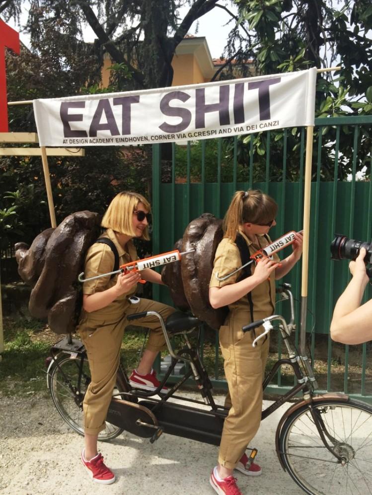 eat shit promotion girls