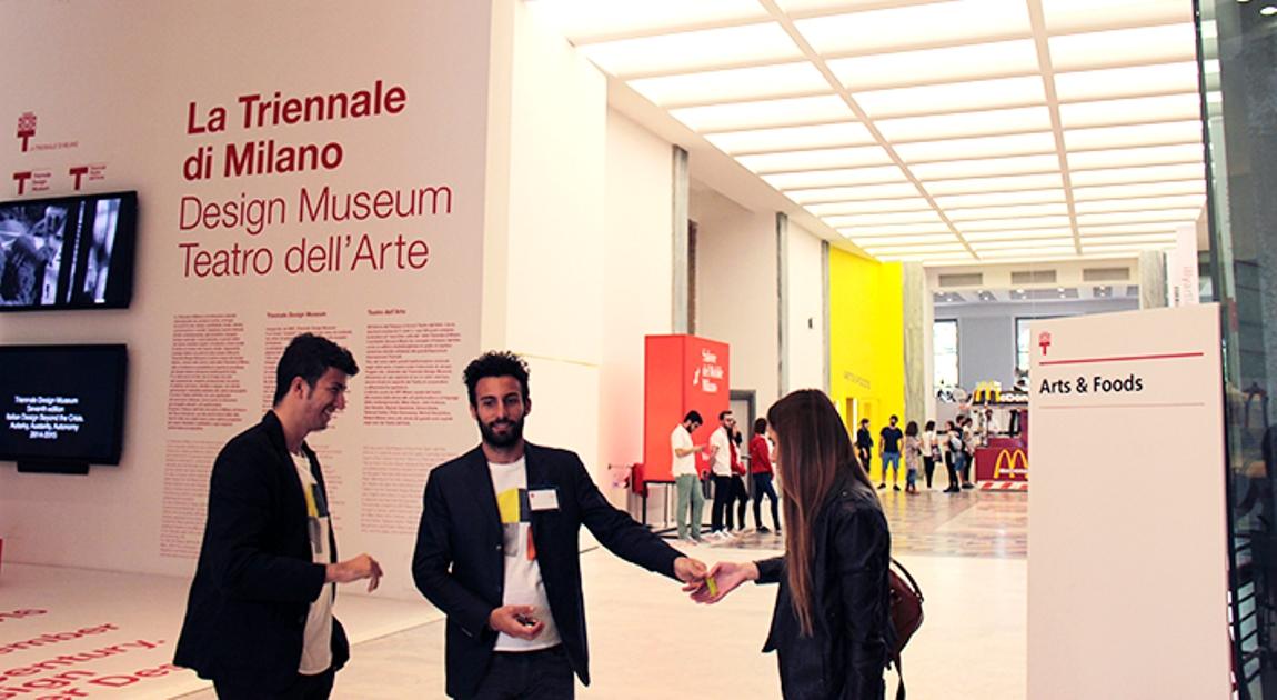 entrance triennale milan 2015
