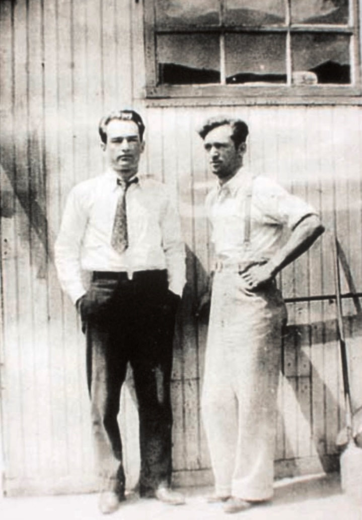 harry and oreste in 1935