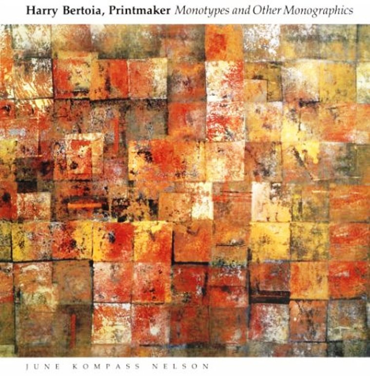 harry bertoia printmaker book cover