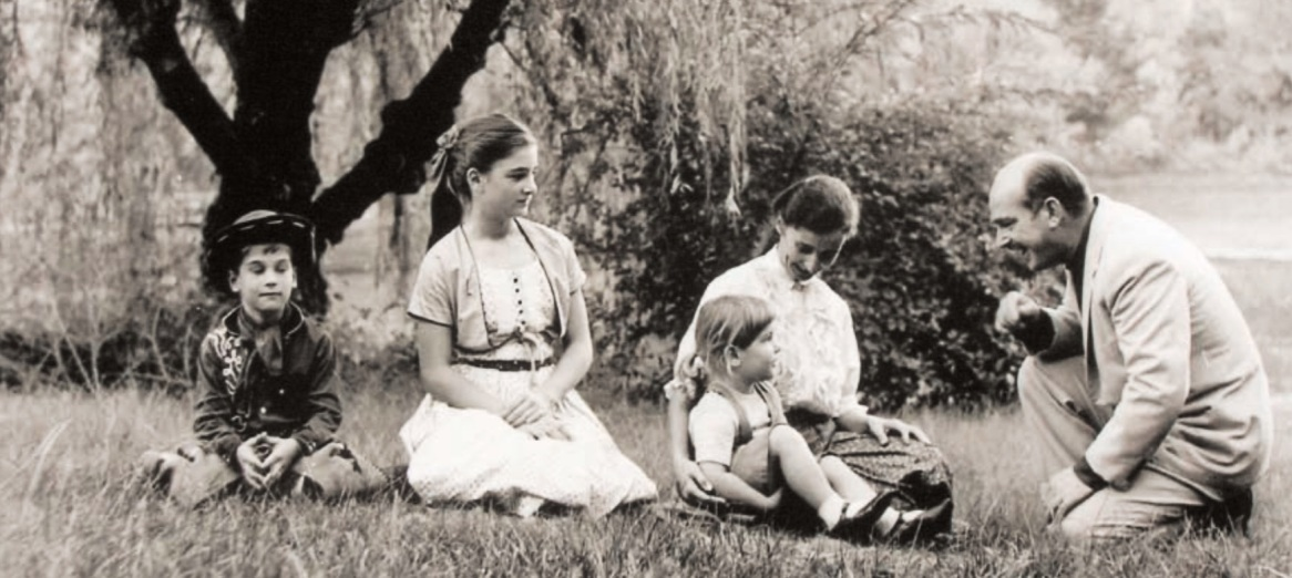 harrys family in san lorenzo in 1957