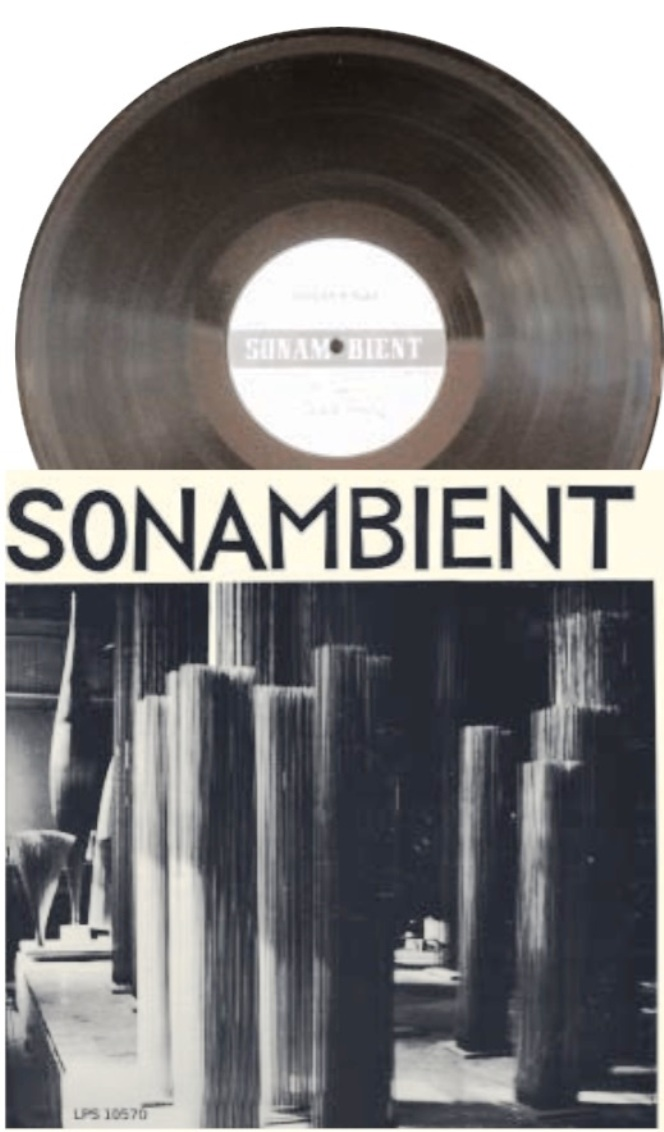 sonambient record LP 1972 ( produced 1969 )