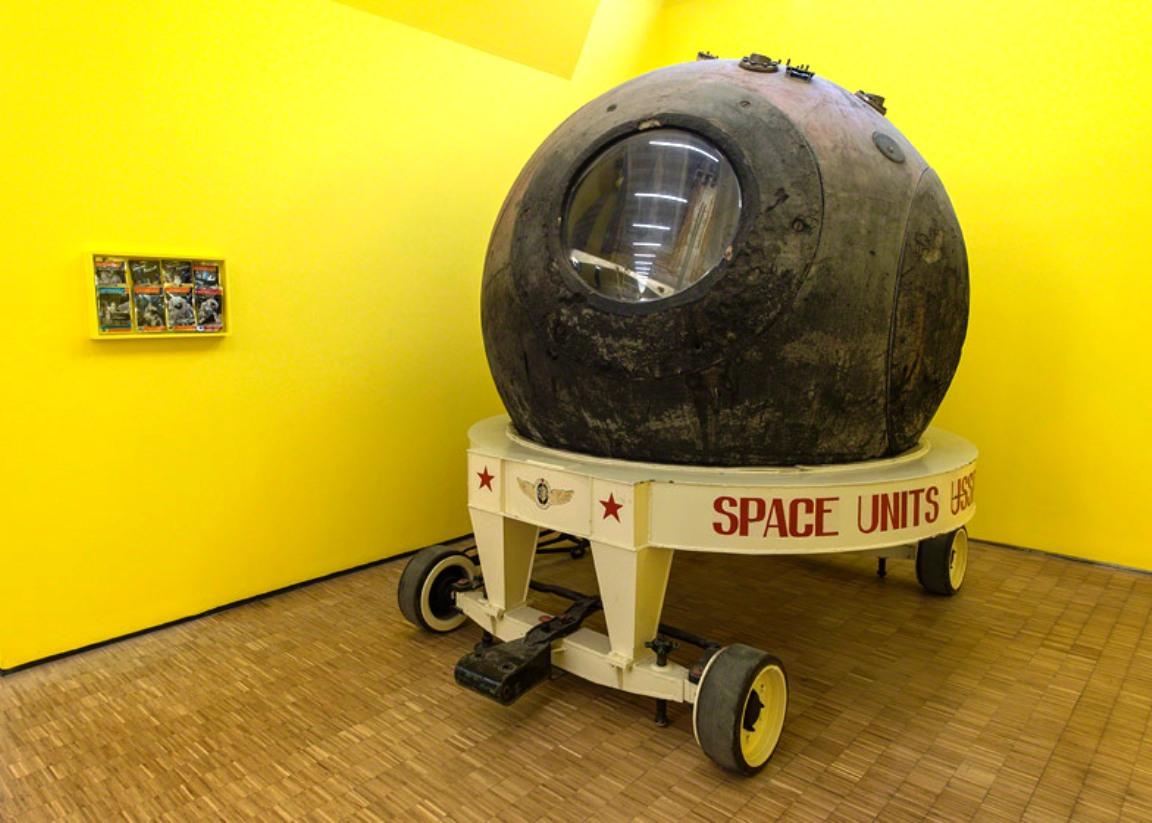 space capsule vostok 1964