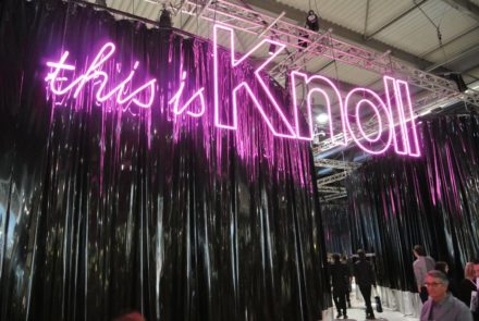 This is Knoll @ Salone Milan 2015