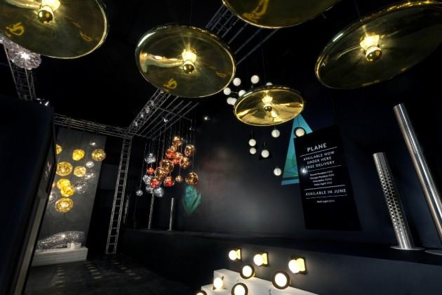 Tom Dixon's Light Show @ Salone Milan 2015